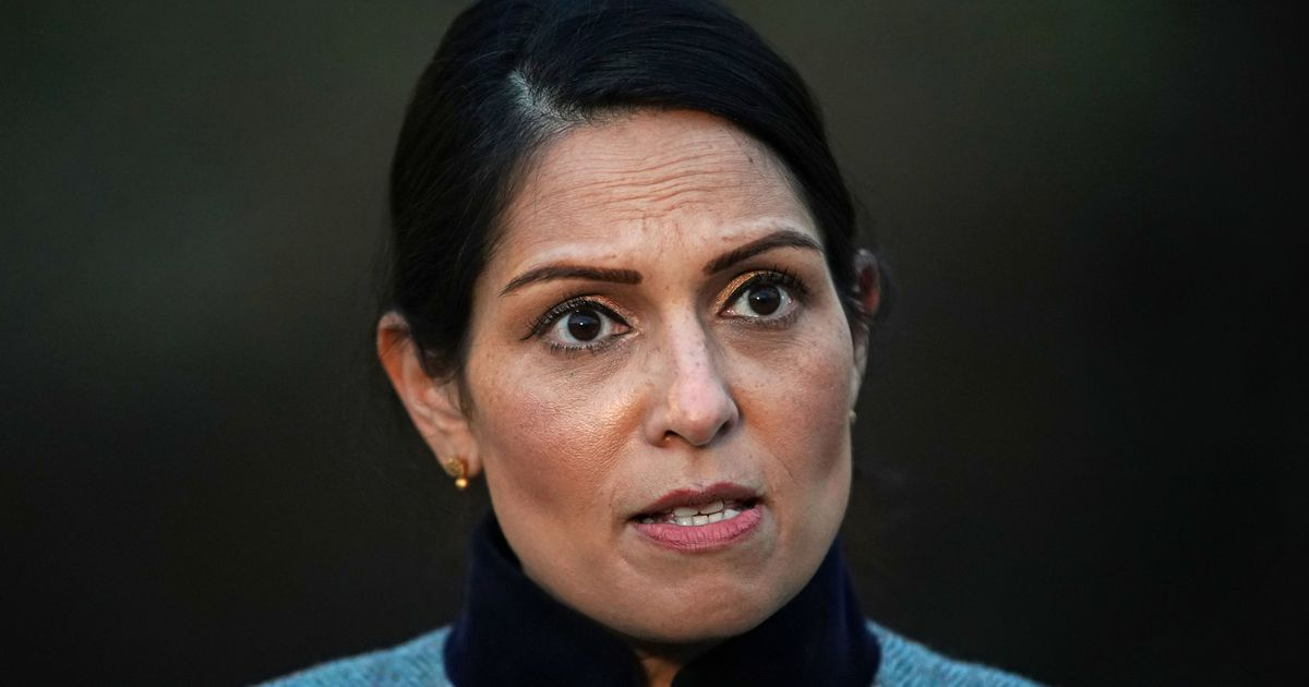 Priti Patel calls Bristol protesters 'thugs' after another night of violence
