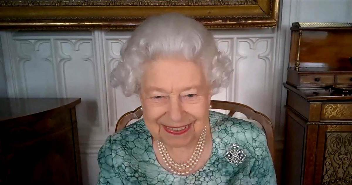 Queen Elizabeth II talks science in first appearance since Meghan interview