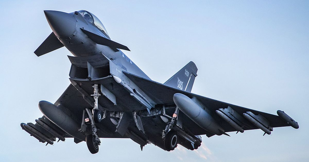 RAF Typhoon jets in 'quick reaction alert' to 'Russian bomber' over North Sea