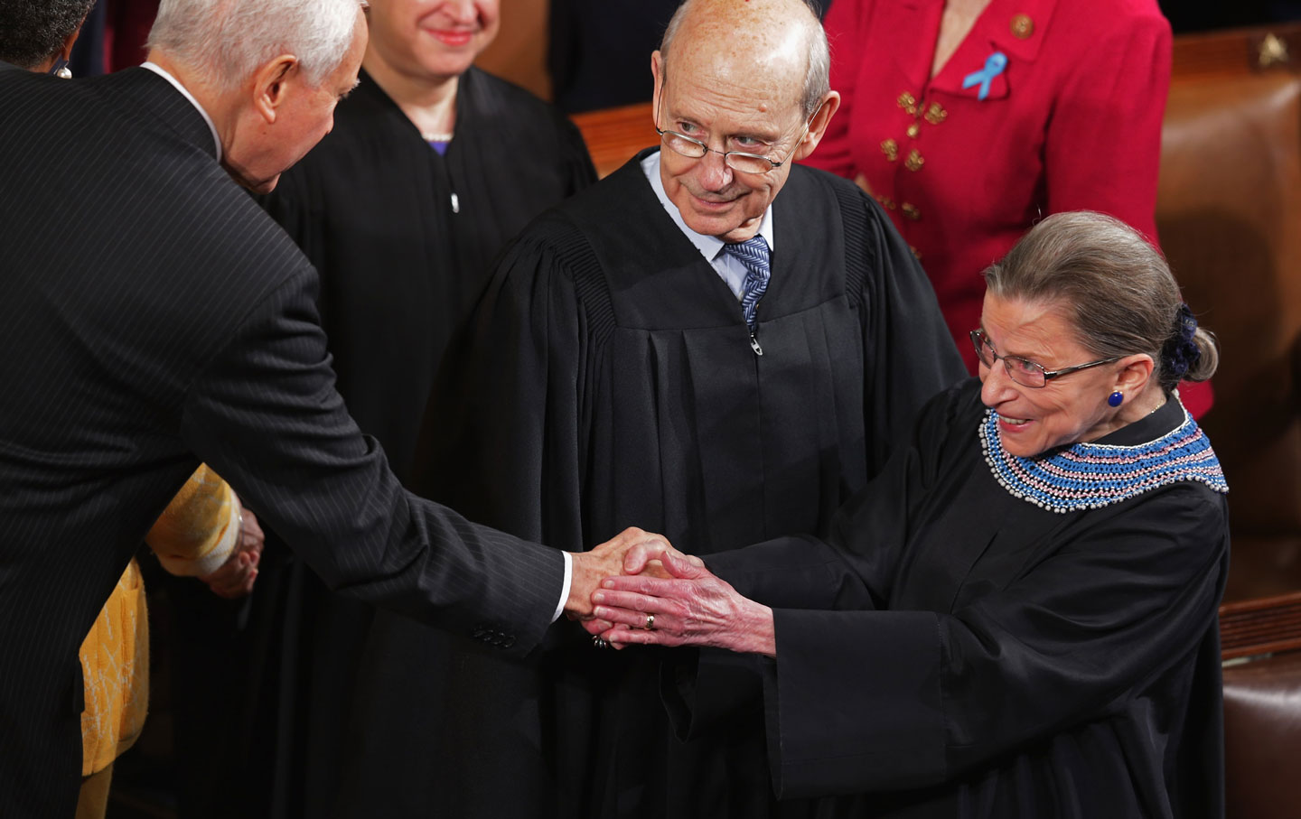 state-union-justices-breyer-ginsburg-gty