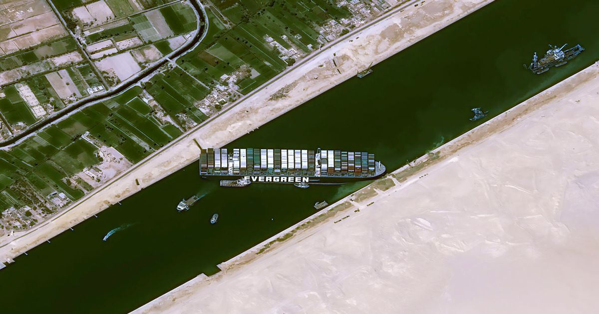 Rising prices: How the Suez Canal 'traffic jam' could affect u