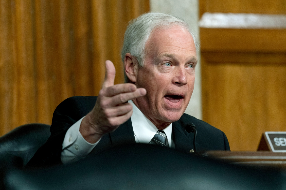 Ron Johnson says he didn't feel threatened Jan. 6. If BLM or Antifa stormed Capitol, he 'might have.'