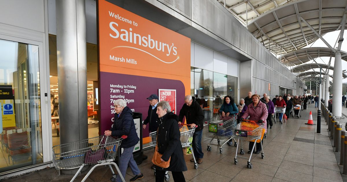 Sainsbury's issues new Covid safety message ahead of Easter