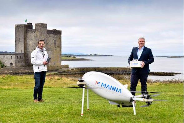 Samsung will deliver products by drone in Ireland