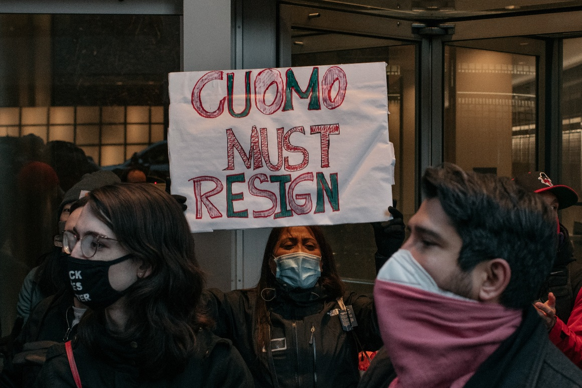 Siena poll: Just 35 percent of New York voters want Cuomo to resign