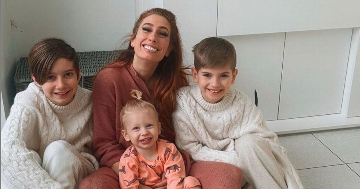 Stacey Solomon's eldest sons pull their weight when it comes to housework