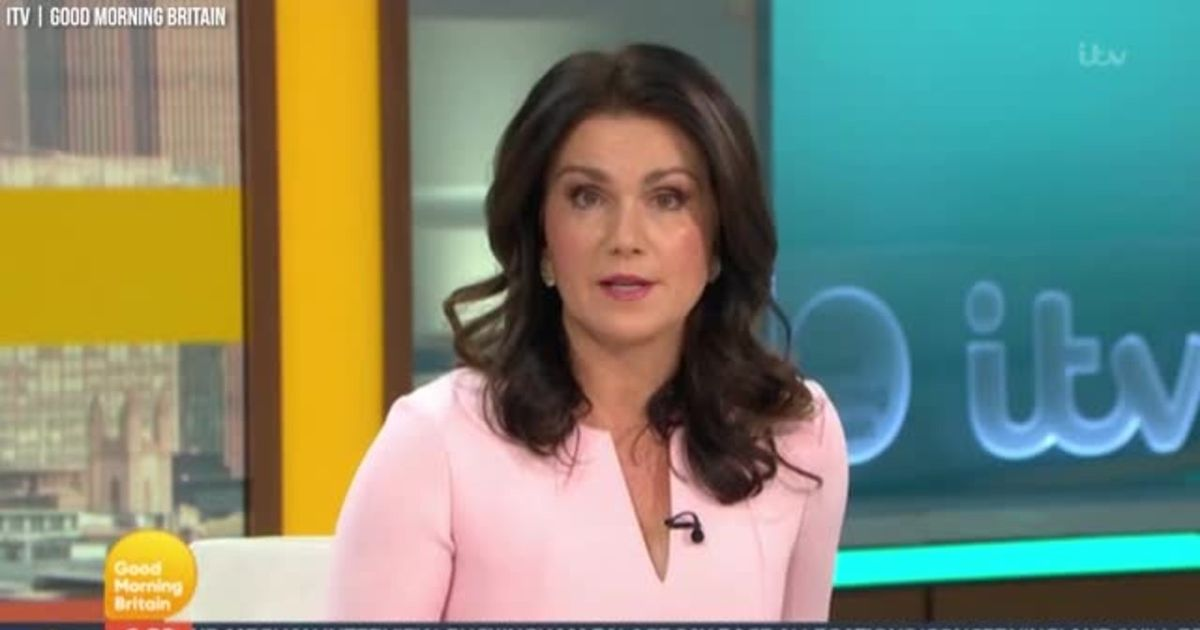 Susanna Reid opens GMB with statement on Piers Morgan