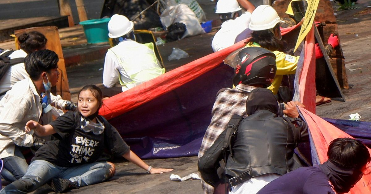 Teenager among 38 killed by police on Myanmar's deadliest day of protests
