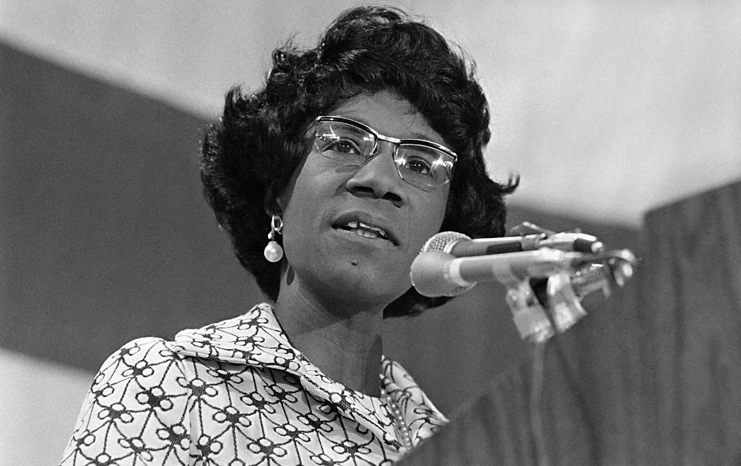 The Times Have Finally Caught Up With Shirley Chisholm