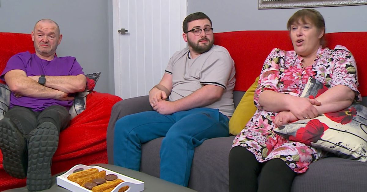 There's a new family member on the sofa of one Gogglebox family