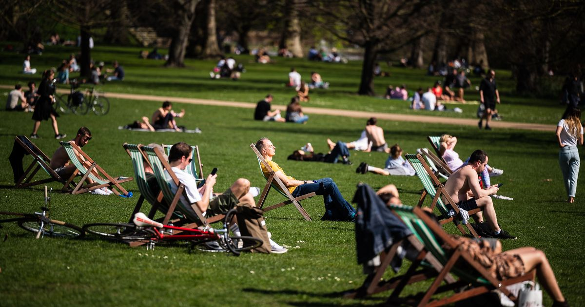 Today has been the hottest March day in the UK for more than 50 years