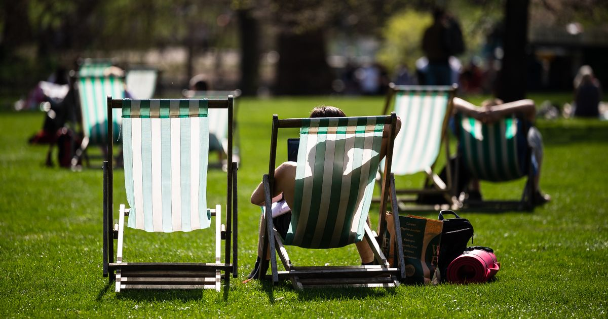 Today the hottest March day for more than 50 years, says Met Office