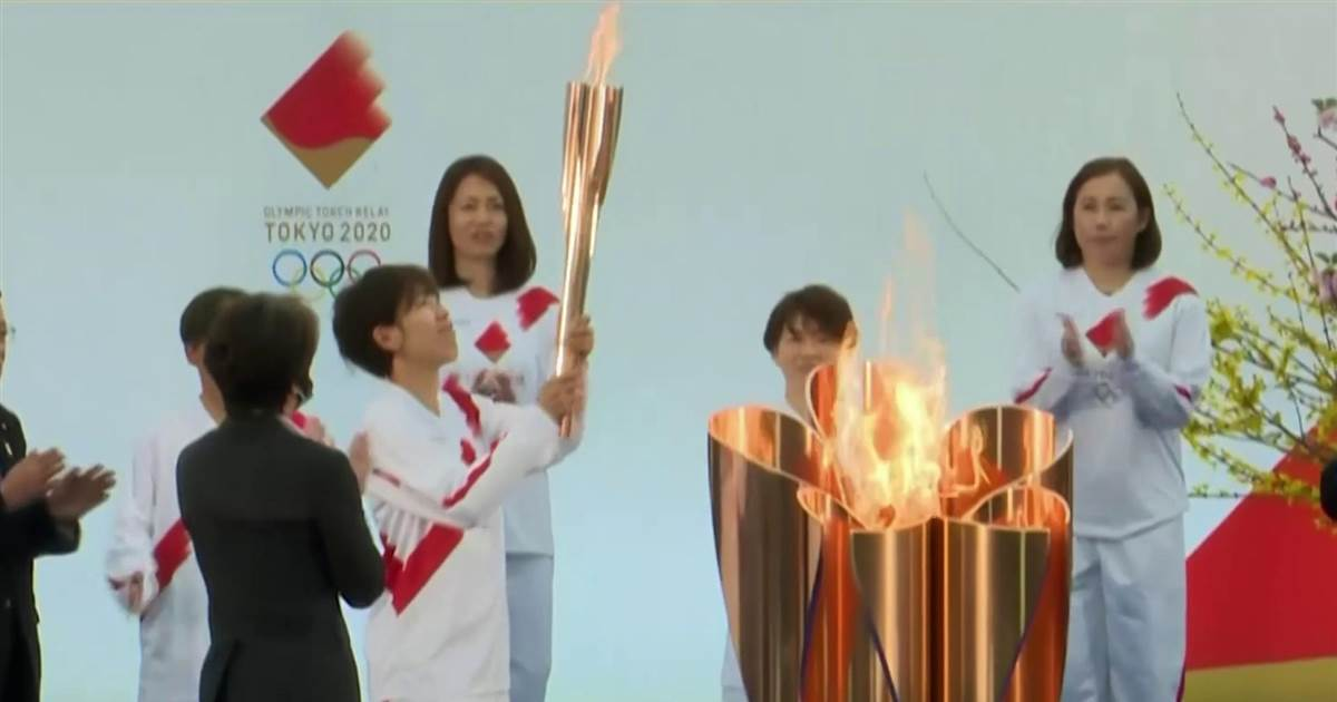 Tokyo 2020's Olympic torch relay kicks off