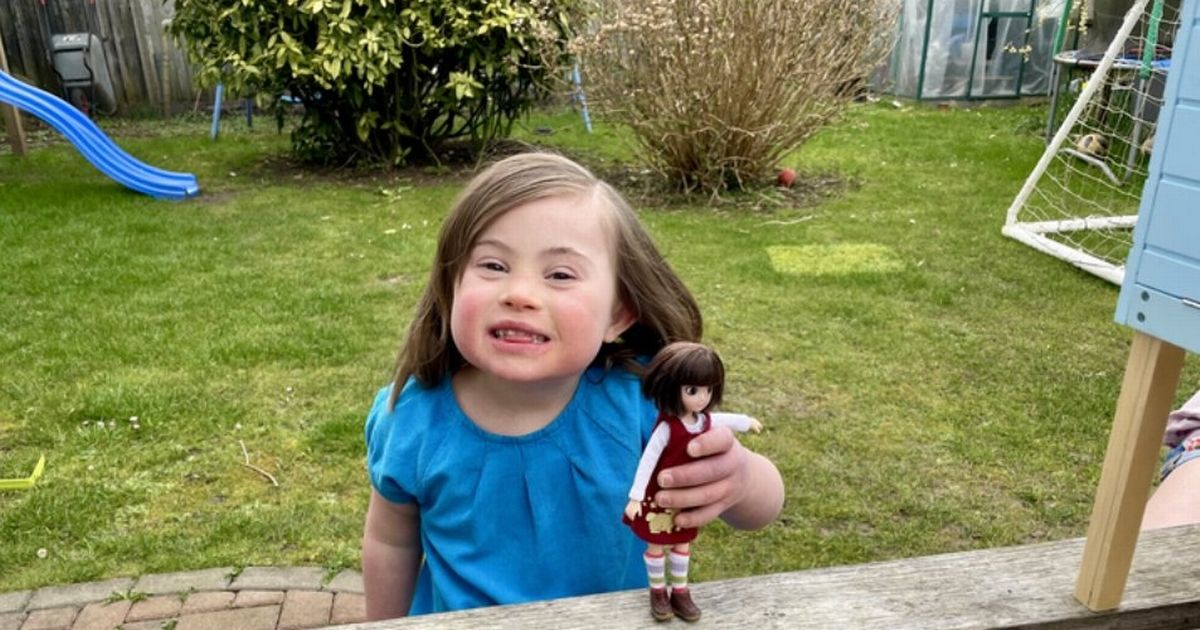 Toy company creates Down's syndrome doll inspired by a six-year-old girl