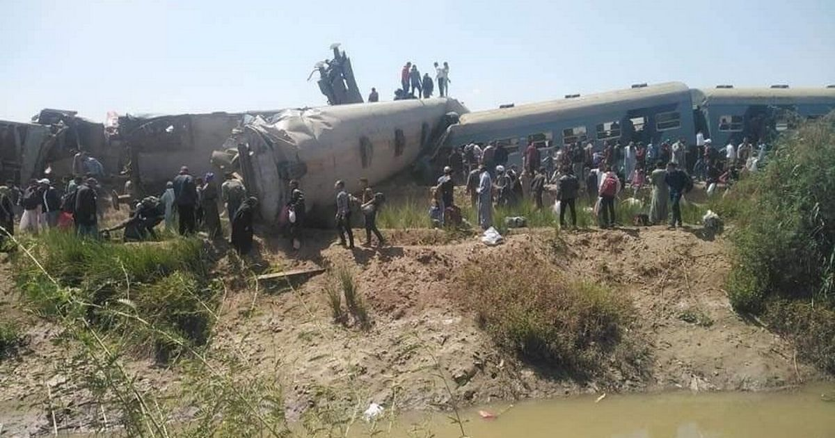 Two trains crash head-on killing at least 32 people and leaving 66 injured