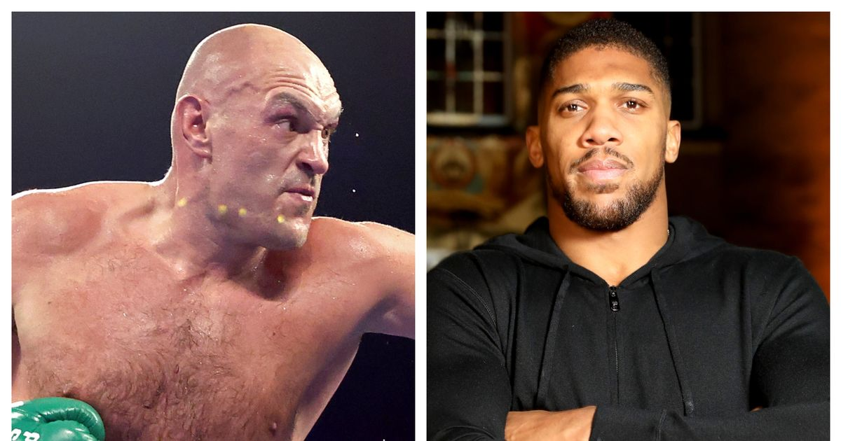 Tyson Fury and Anthony Joshua sign contracts for two fight deal