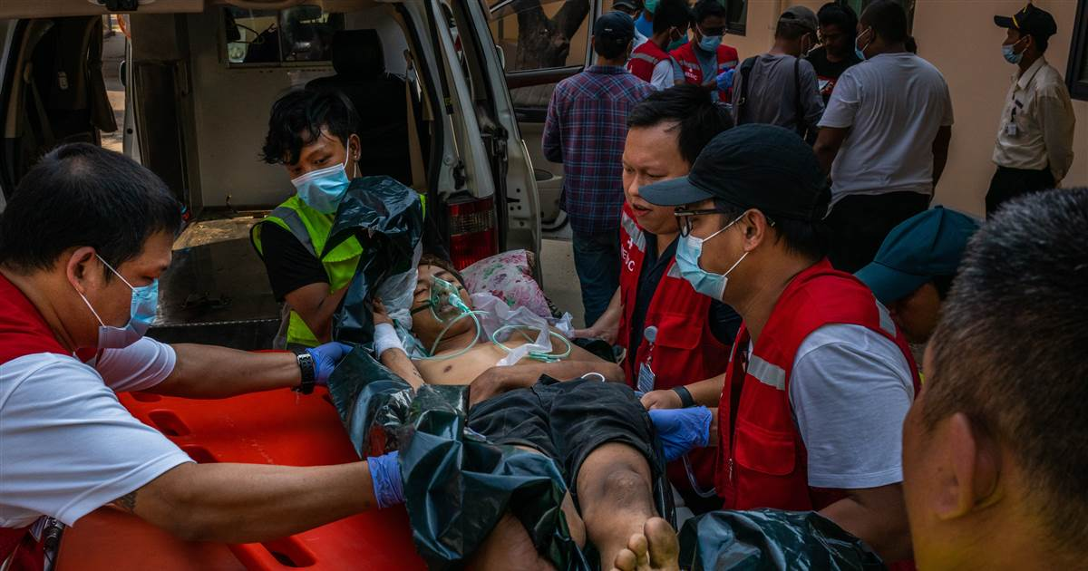 U.S. 'horrified' after Myanmar's bloodiest day since military coup