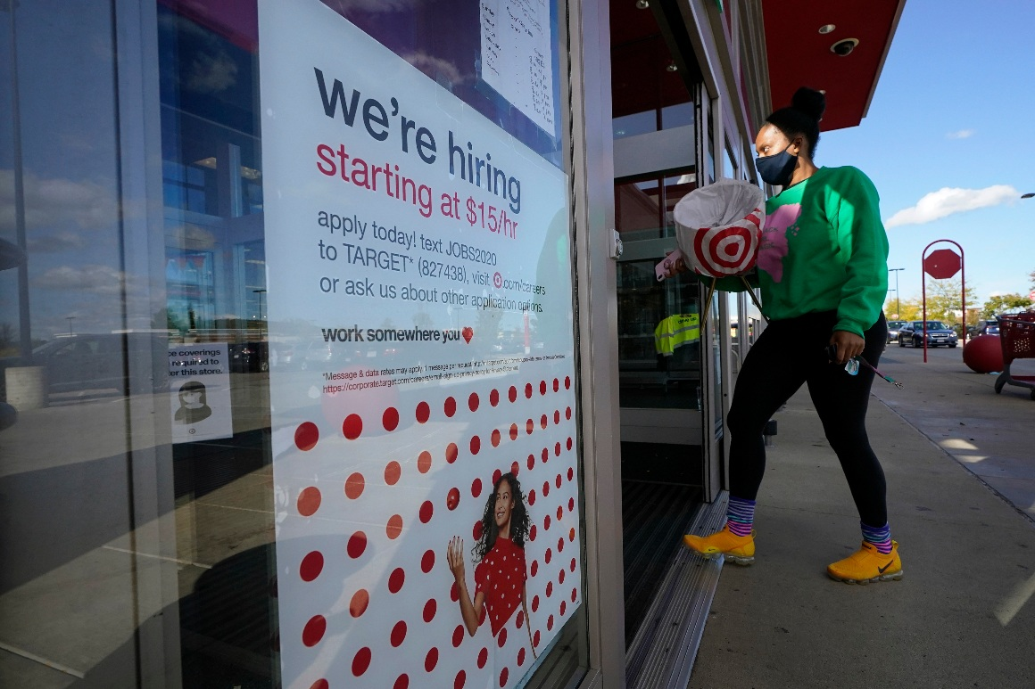 U.S. adds a strong 379,000 jobs in hopeful sign for economy