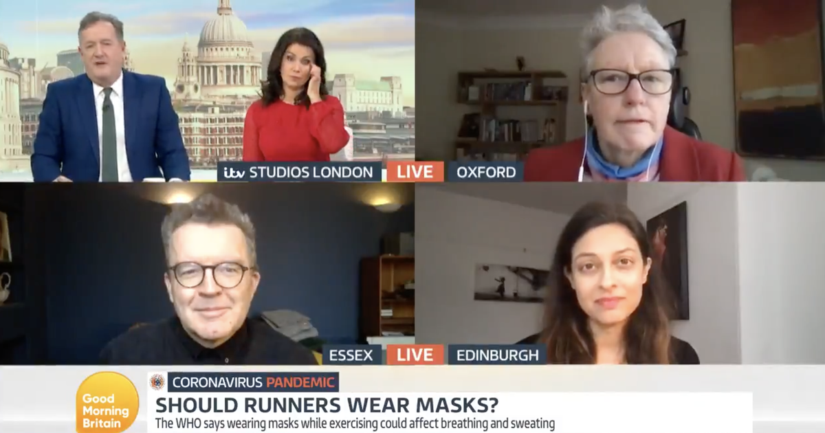 Viewers hit out at 'rude' Piers Morgan over runner comments