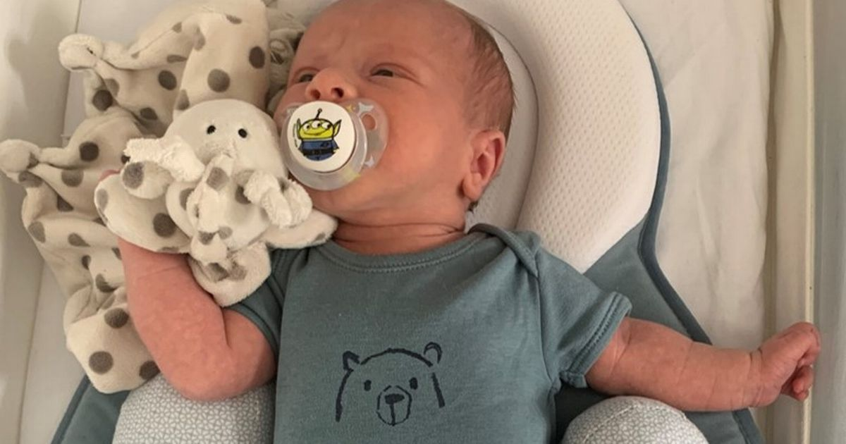 'Fly high angel' Parents' tribute to two-week-old killed by car