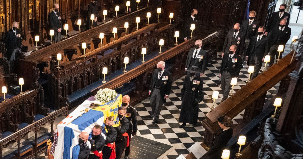 'You all need to leave' - final moments of Prince Philip funeral