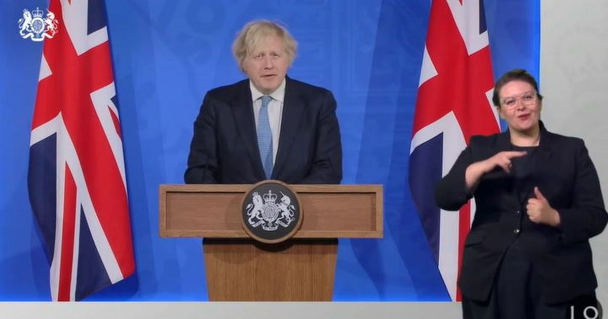 10 things Boris Johnson announced ahead of rules easing next week