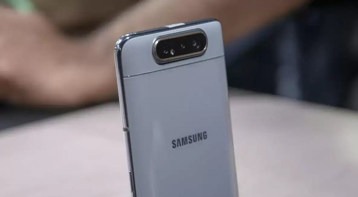 Galaxy A82 with rotating camera revealed
