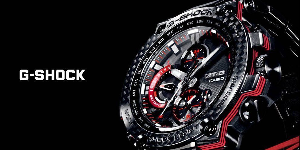 Smart watch from Casio tough conditions: G-Shock