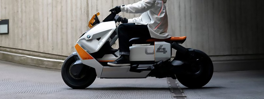 Futuristic BMW electric scooter to be manufactured soon