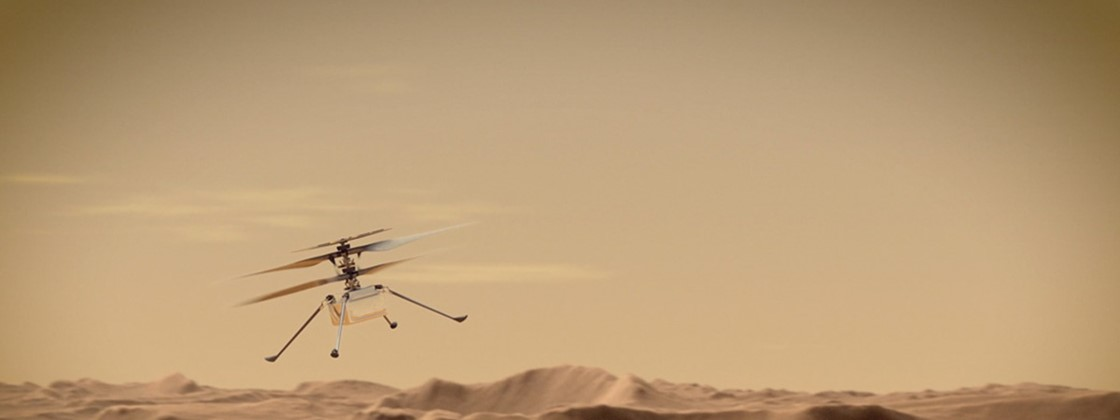 NASA: how to track the first flight of Ingenuity on Mars