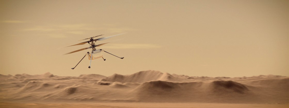 NASA drone receives software update to fly on Mars