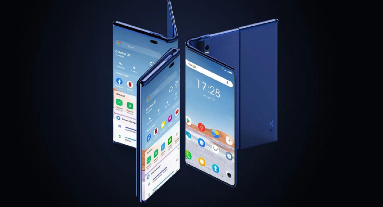 Fold n 'Roll: Concept phone that can extend from TCL