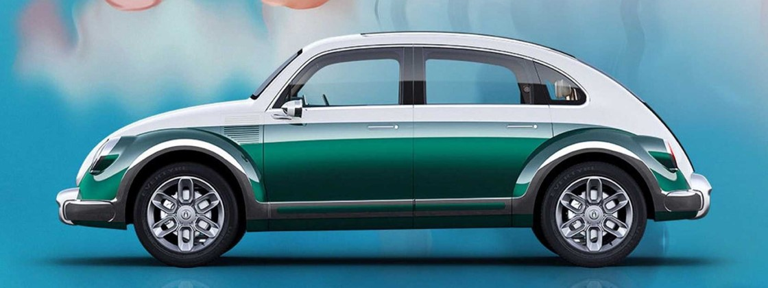 'Chinese Electric Beetle' Shows More Similarities to the VW Classic