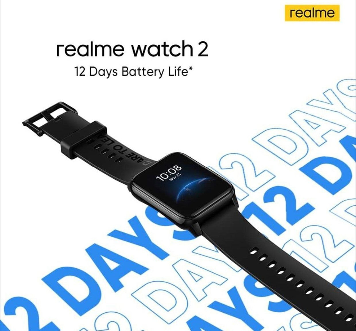 Realme Watch 2: 12 Day Ending Device Is Coming Soon
