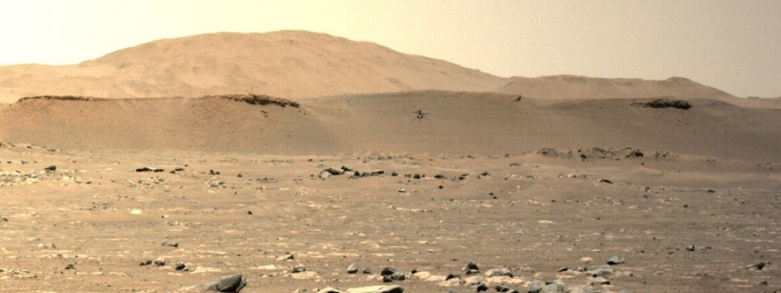 Ingenuity: Helicopter Successfully Makes Third Flight On Mars