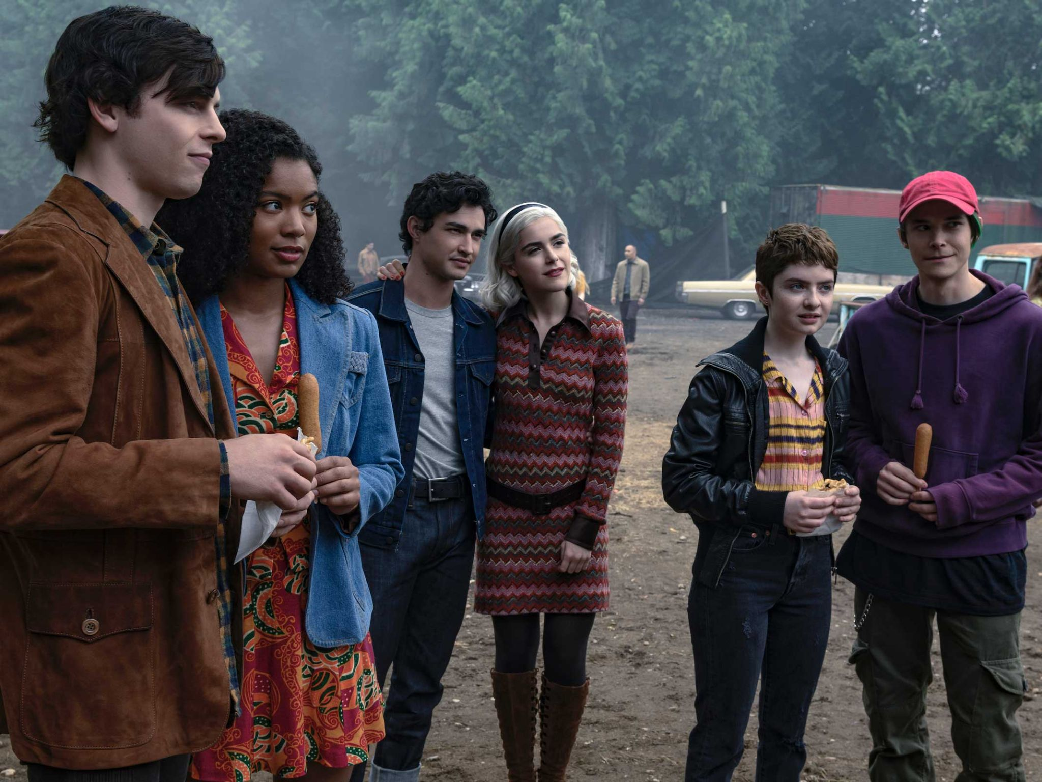 Place Where Each Vital Character Turned up on Chilling Adventures of Sabrina Season 3 1