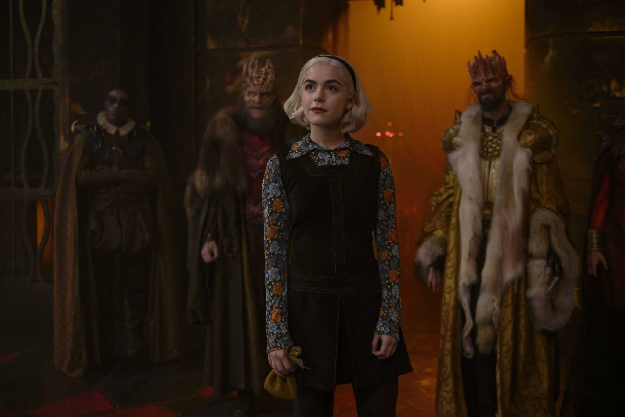 Place Where Each Vital Character Turned up on Chilling Adventures of Sabrina Season 3 2
