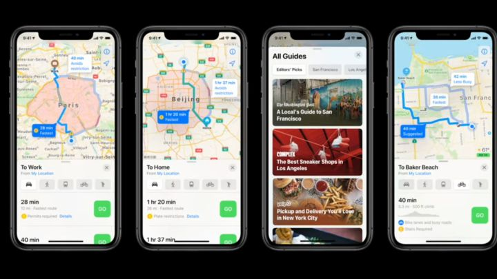 Apple Maps Will Help You Find Where to Park or Refuel With Its New Function