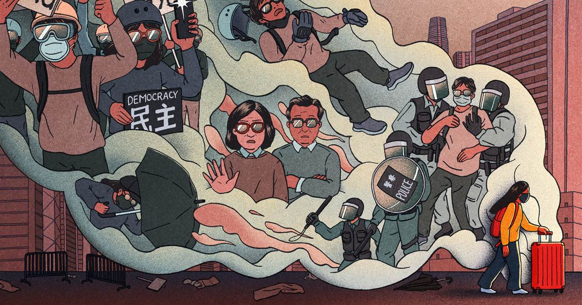 A teenager in exile: How one Hong Kong protester came to seek political asylum in the U.K.