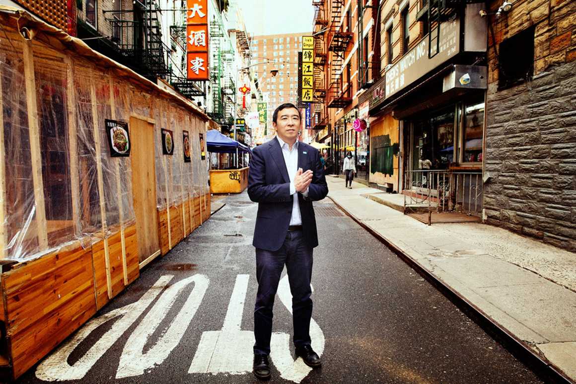 Andrew Yang's Asian American Superpower