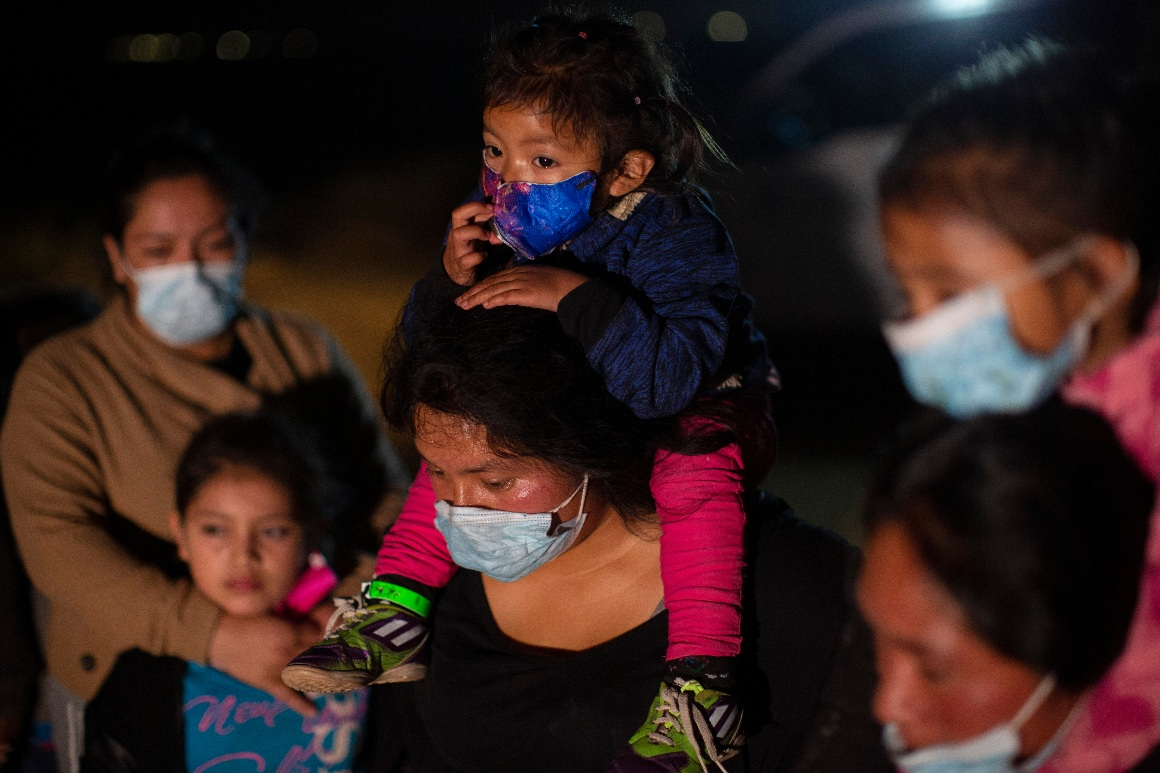 Biden administration: Child arrivals at southern border hit record number in March