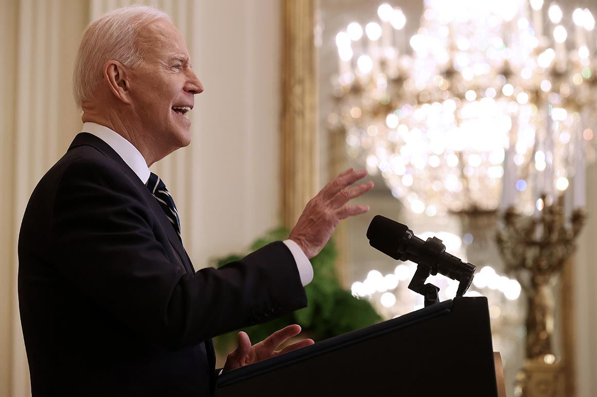 Biden wants to cement a governing majority. His Build Back Better bill is his plan to do it.