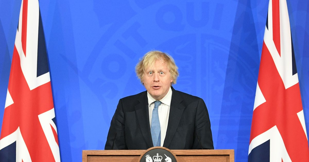 Boris Johnson to host Covid announcement briefing on Tuesday
