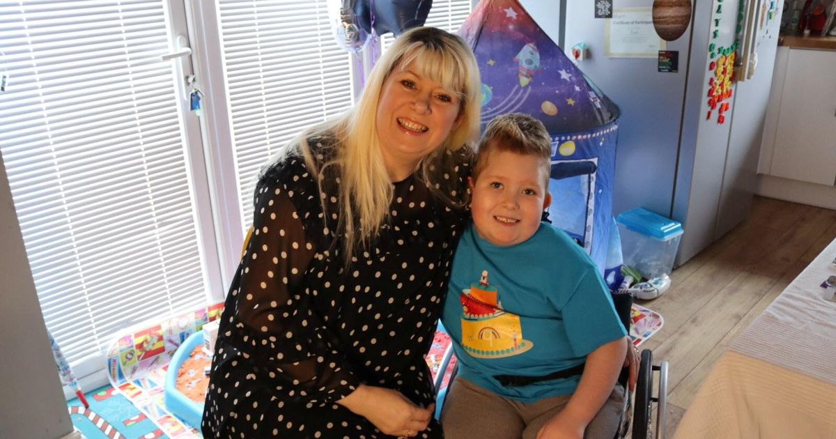 Boy born with 2% of his brain beats odds and celebrates ninth birthday