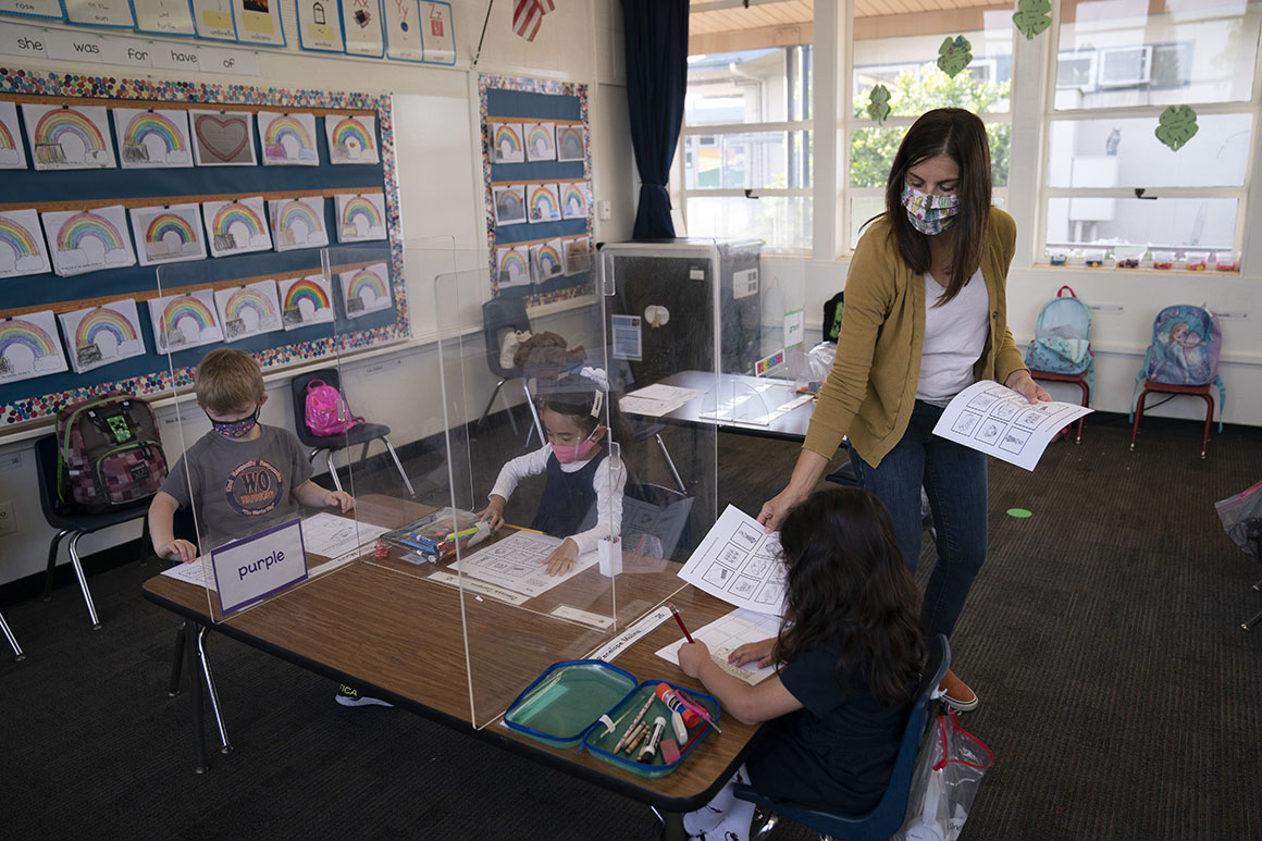 California teachers' latest demand: Free child care