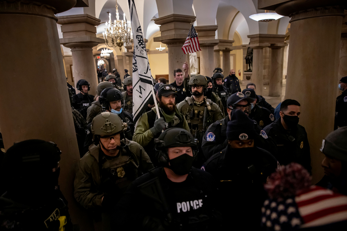 Capitol Police official who said to watch for 'anti-Trump' forces on Jan. 6 was deputy chief