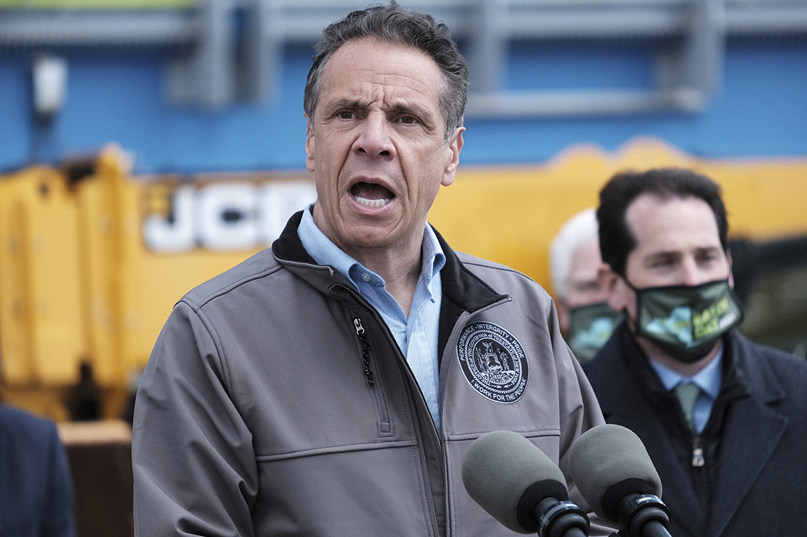 Cuomo offers blanket denial of harassment allegations