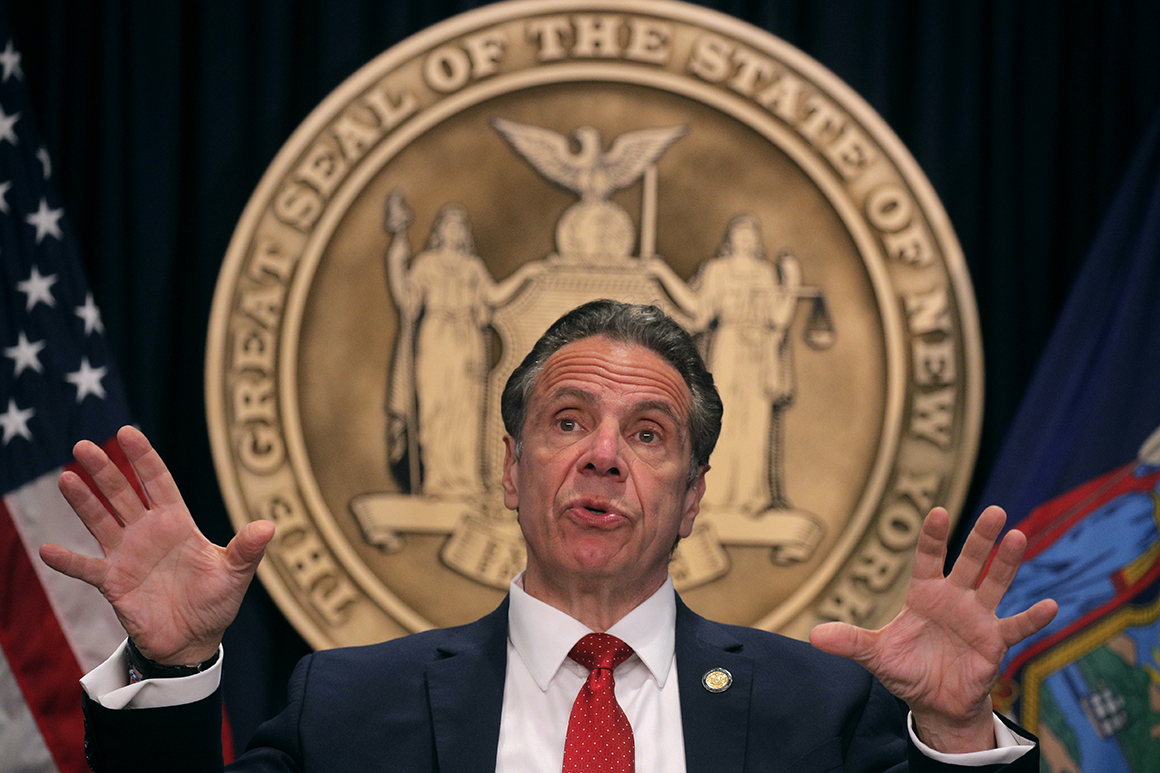 Cuomo's Albany dominance takes backseat to political survival
