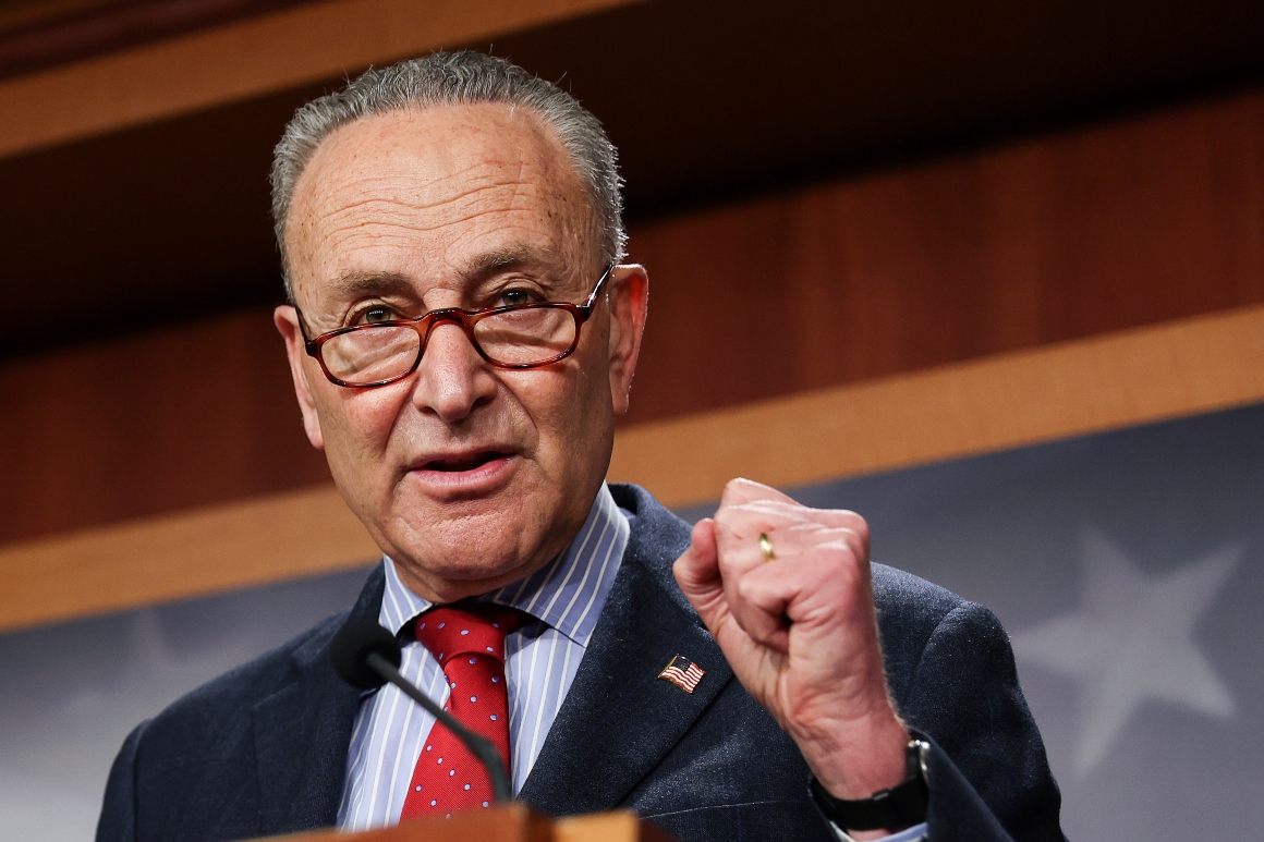 Dems can use unprecedented move for an extra filibuster-proof bill, Schumer aide says
