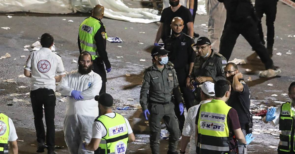 Dozens killed in stampede at religious gathering in Israel
